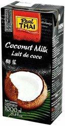 Mleko kokosowe (85% wyciągu z kokosa) 1L x 12 sztuk - Real Thai