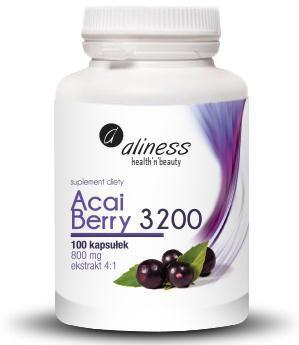 Acai Berry 3200 800 mg (ekstrakt 4:1) - 100 kapsułek