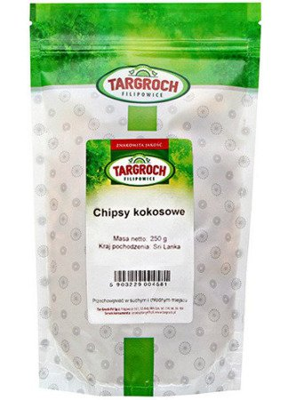 Chipsy kokosowe 250g - Targroch