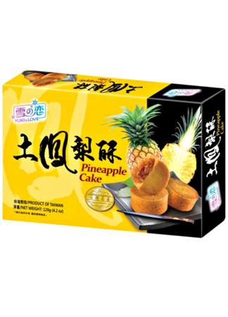 Ciasteczka ananasowe 120g - Yuki & Love