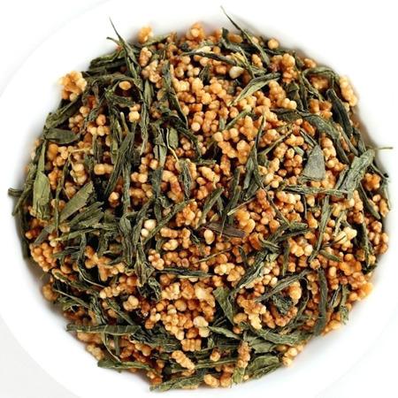 Herbata Genmaicha - zielona herbata z prażonym ryżem 100g