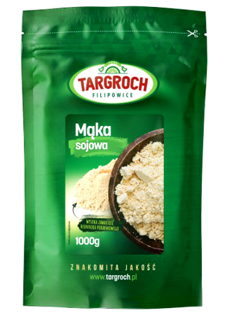 Mąka sojowa bezglutenowa 1kg - Targroch