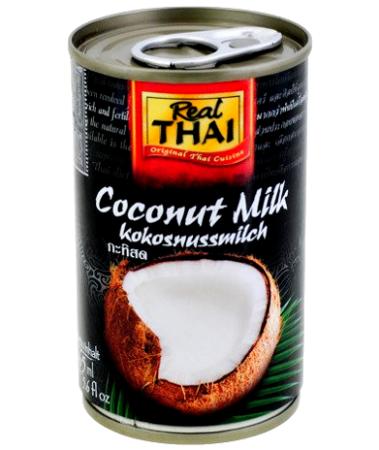 Mleko kokosowe w puszce (85% wyciągu z kokosa) 165ml - Real Thai