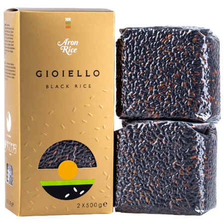 Ryż czarny Gioiello 1kg - Aron Rice