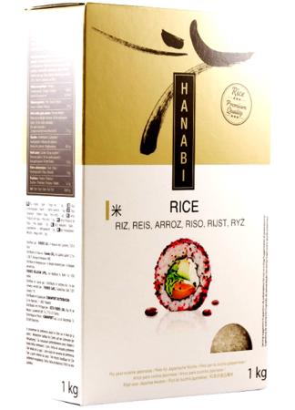 Ryż do kuchni japońskiej Premium Quality 1kg - Hanabi