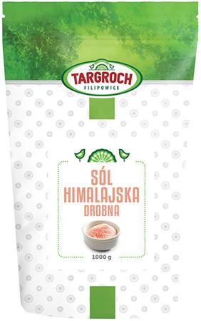 Sól himalajska różowa drobna 1kg - Targroch
